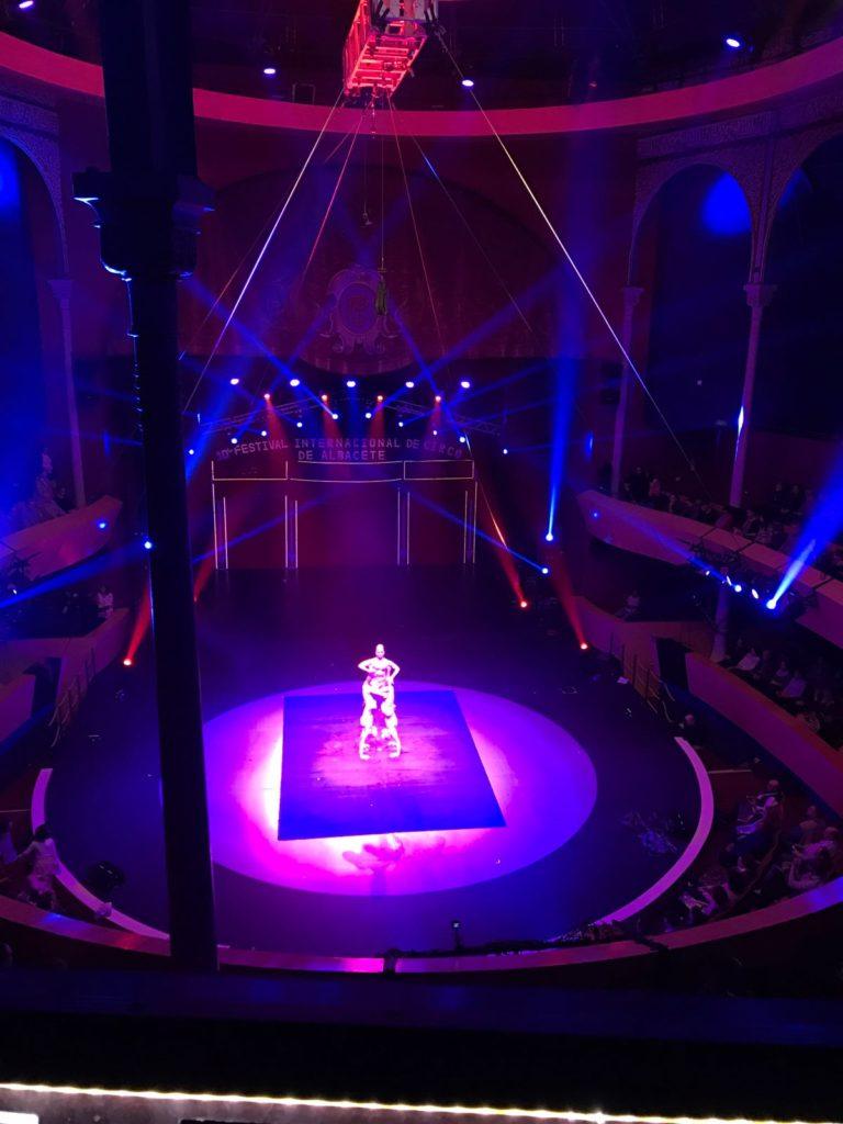 X festival internacional de circo actuación