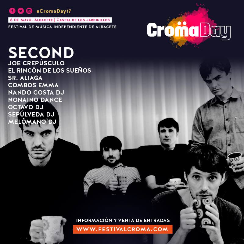 cartel con fotografia de second croma day