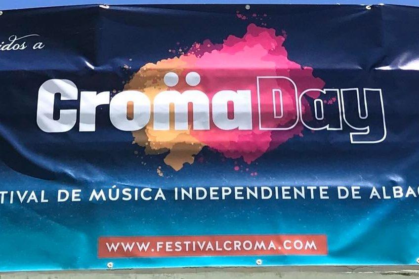 cartel bienvenida cromaday 2017