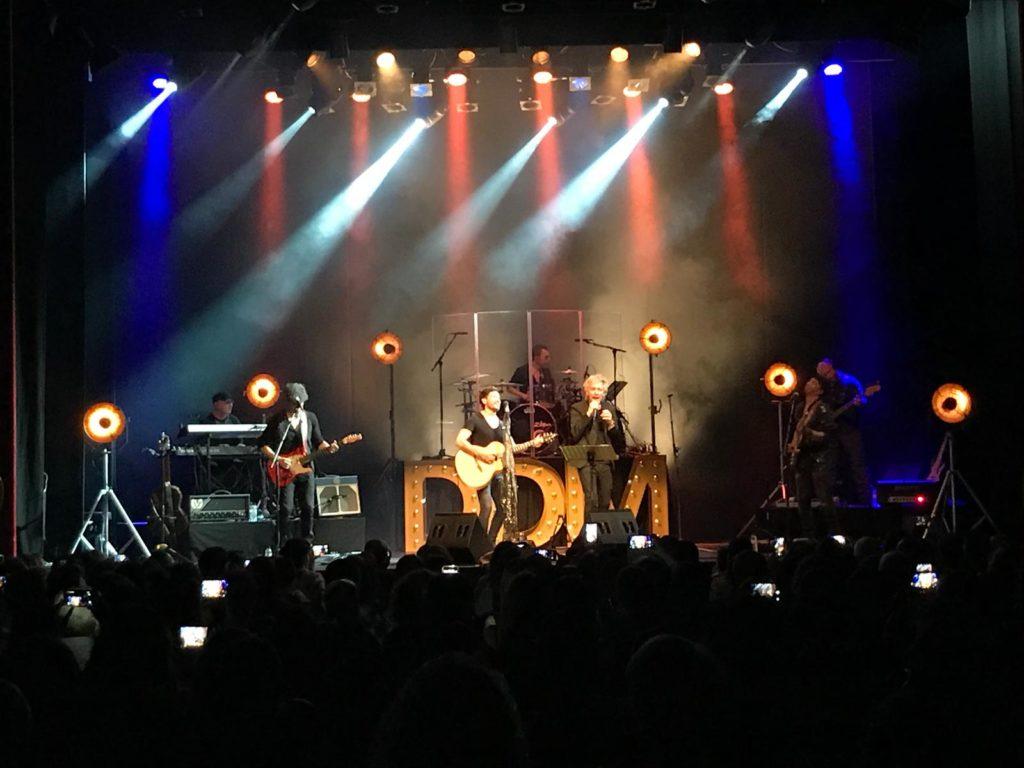 David de María en Barcelona y su gira 20 años