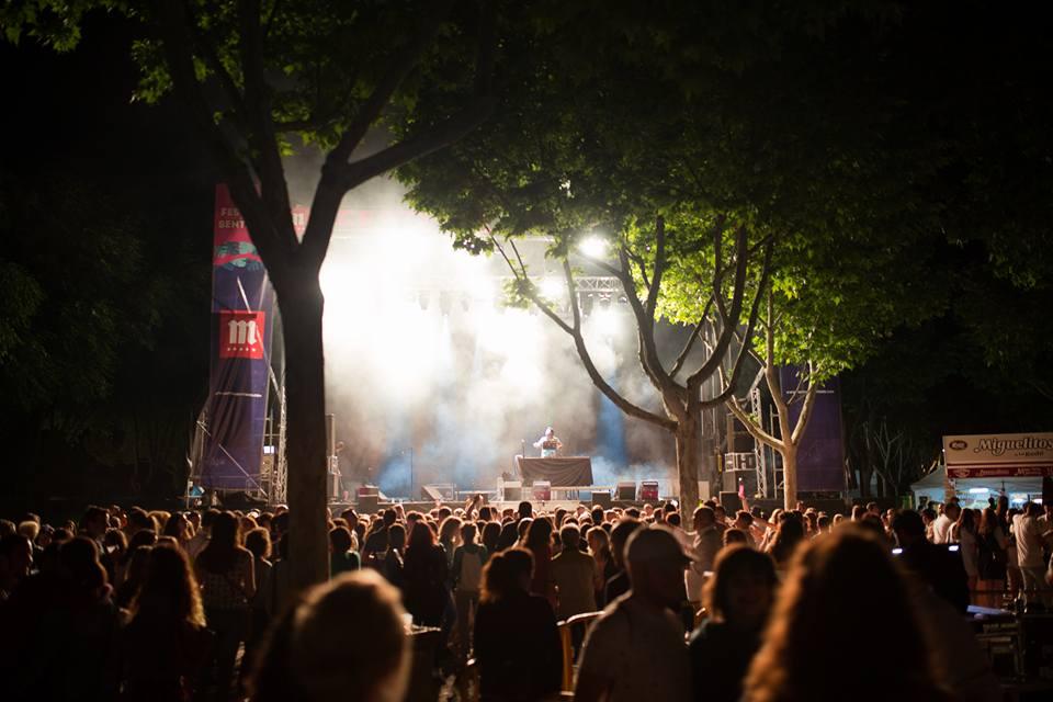 escenario festival de los sentidos
