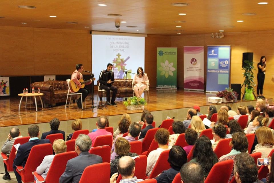 día mundial de la salud en Albacete, actuación