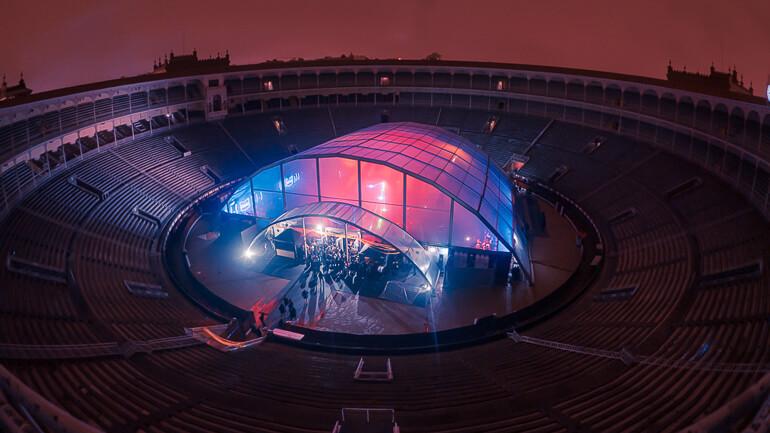 Plano general Las Ventas Madrid conciertos